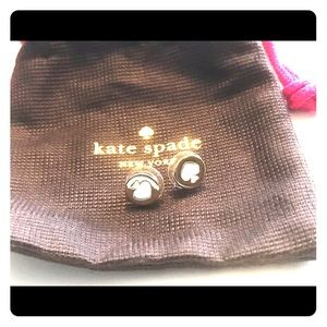 Kate Spade White Earrings